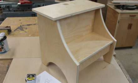How To Build A Simple Step Stool – Design Plans