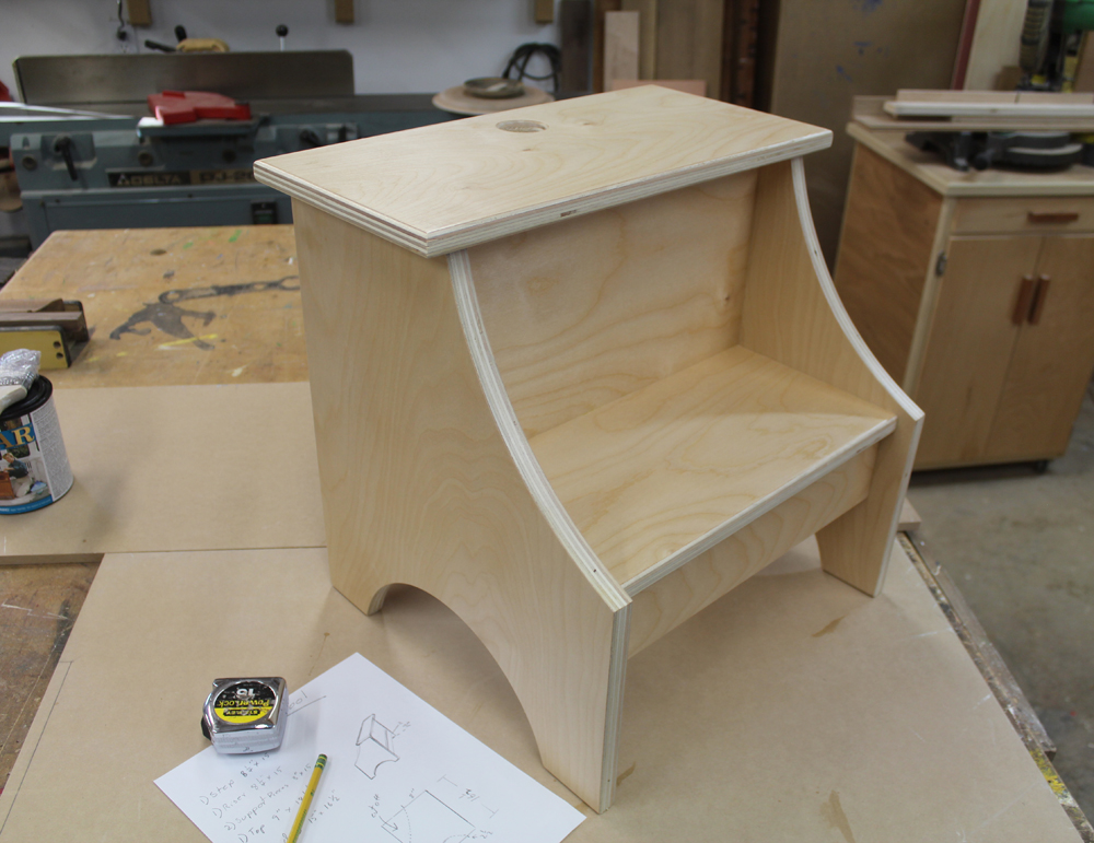 Simple Step Stool – Free Design Plans