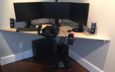 Simple Corner Desk – Free Design Plans