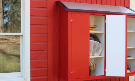Build a Small Tool Shed / Gardening Cabinet