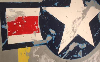 Airplane Wing – Wall Art, P51 Stars & Bars (short version)