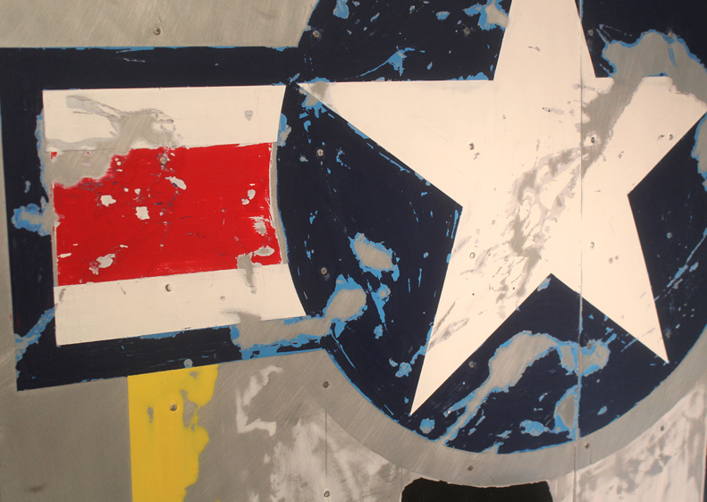 Airplane Wing – Wall Art, P51 Stars & Bars (short version)