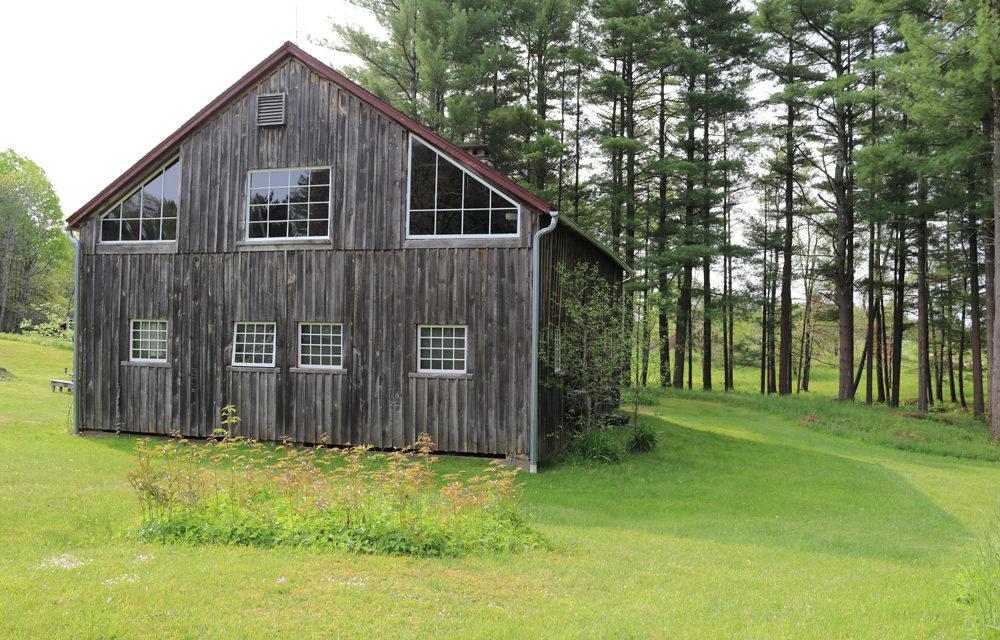 Old New England Post and Beam Barn