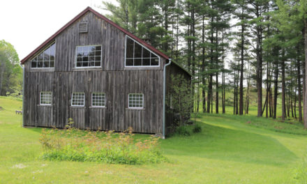 Old New England Post and Beam Barn