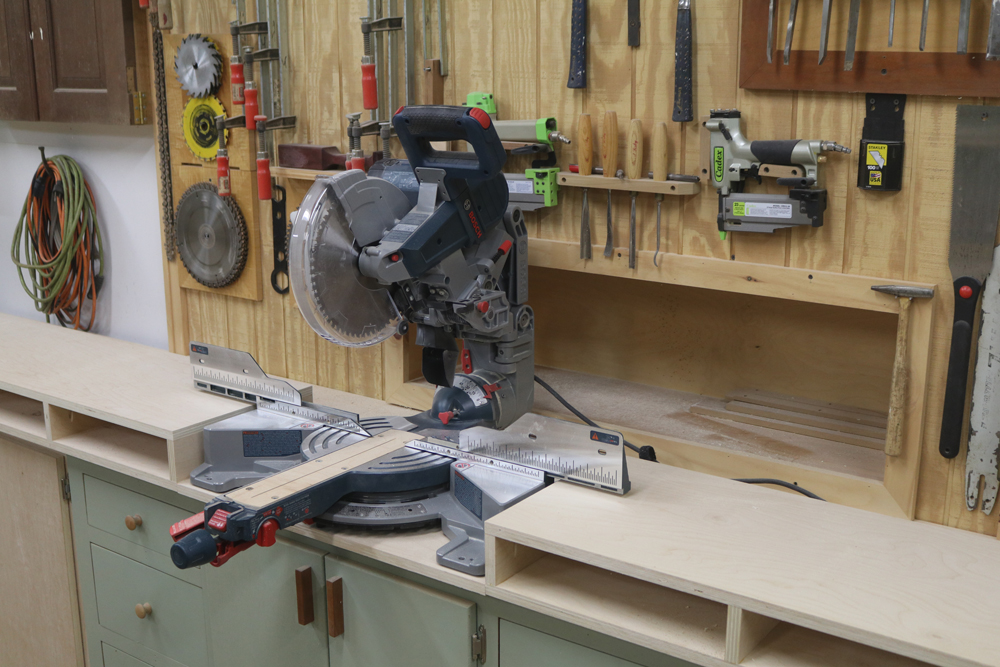 Build A Miter Saw Station With Storage Cabinets Jon