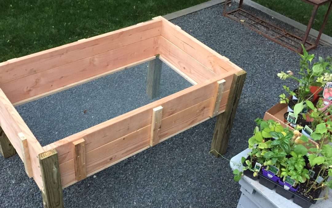 Stand up planter box design plans jon peters art home for How to build a box stand