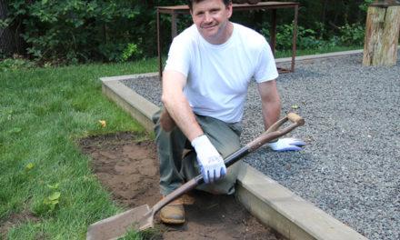 Prep Work for Outdoor Kitchen Build