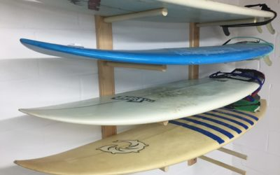 Build a Surfboard Rack – Free Design Plans