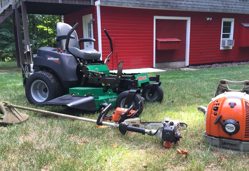 My go to gas powered tools for lawn yard maintenance for Garden maintenance tools
