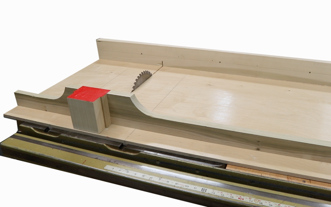 Table Saw Crosscut Sled – Easy to Make & BIG!