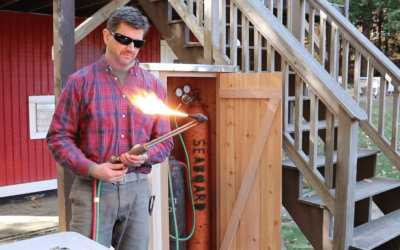 Build A Small Tool Shed –  Welding Tank Storage Cabinet