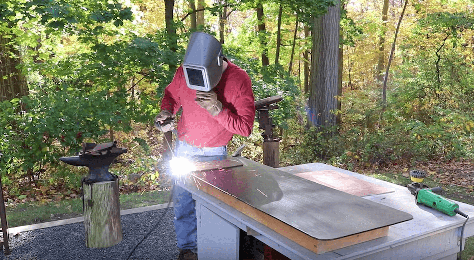 How To Make A Welding Table Jon Peters Art Amp Home