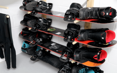 How To Build a Snowboard Storage Rack – Plans