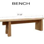 Design & Build a Modern Bench