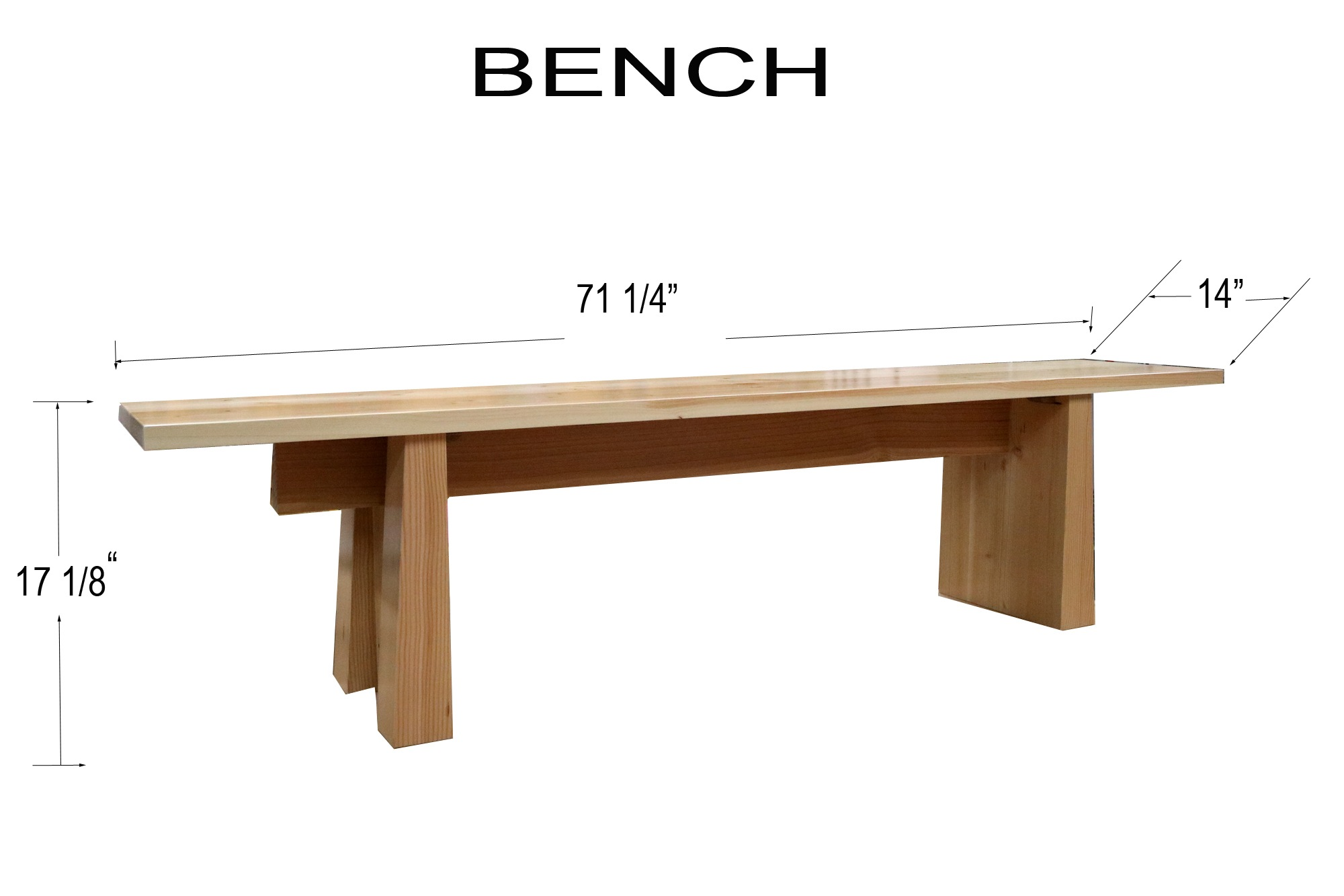 Build a Modern Bench – Free Design Plans