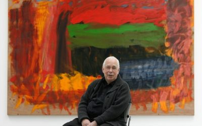 "Famous British ""Colorist"" Howard Hodgkin: 1932-2017"