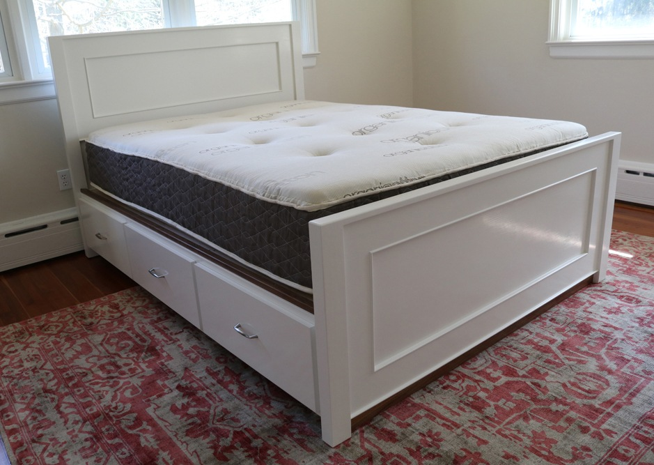 Build A Storage Bed – Free Design Plans