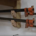Simple Clamp Rack & How & Why to Make Extra Long Clamps