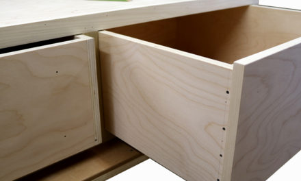 How to Build Plywood Drawers With Screws
