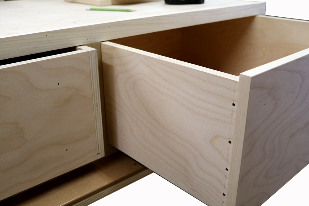 Building Plywood Drawers ~ How to build plywood drawers with screws jon peters art
