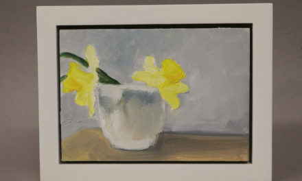 Painting Daffodils –  4/18/2017