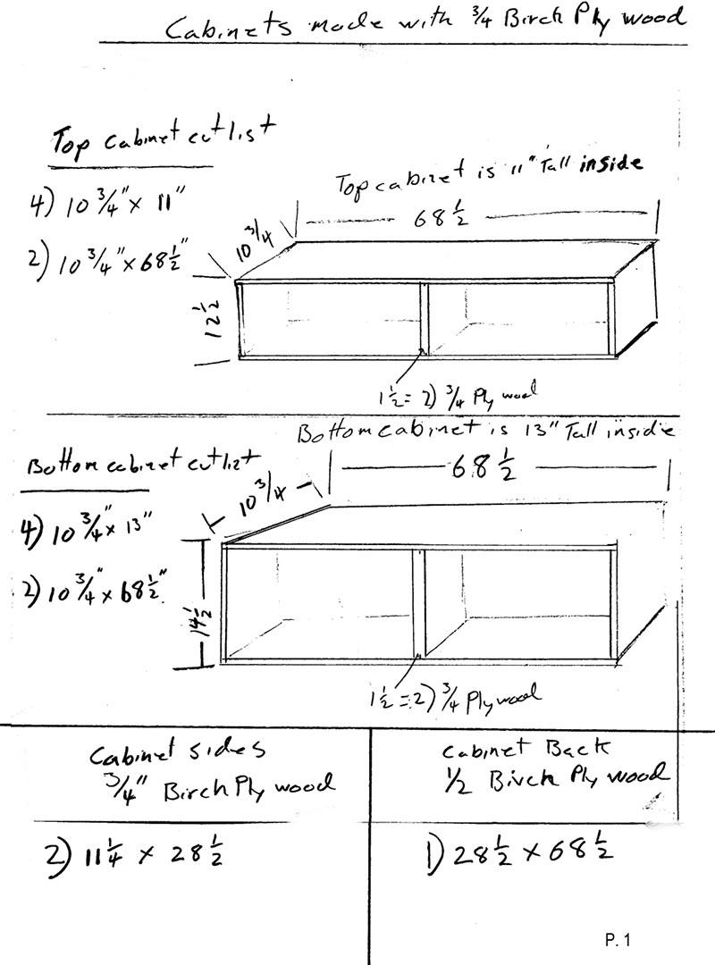 Sofa Table Bookcase Design Plans