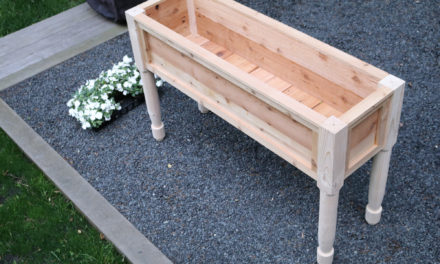 Flower Box Planter -Design Plans