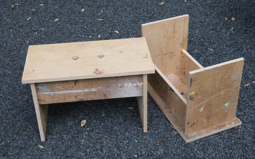 Simple Shop Stools – Design Plans