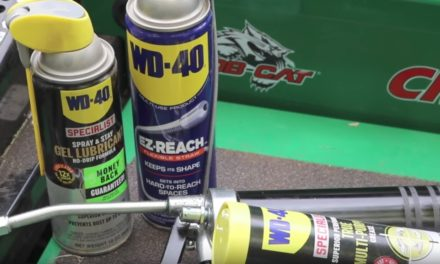 Load a Grease Gun + Grease Bob-Cat CRZ 52 Mower