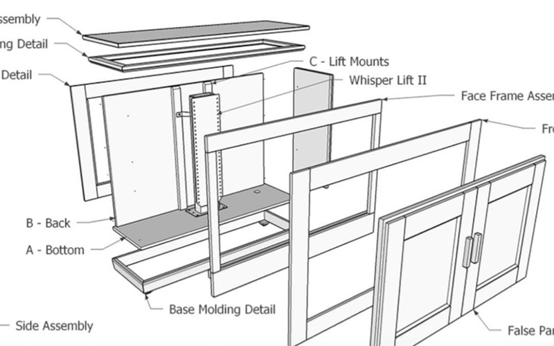 How to Build a TV Lift Cabinet – Free Step by Step Plans