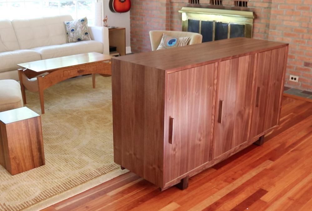 Build a Modern Cabinet – FREE DESIGN PLANS