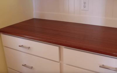How to Make, Fit & Finish a Wooden Countertop