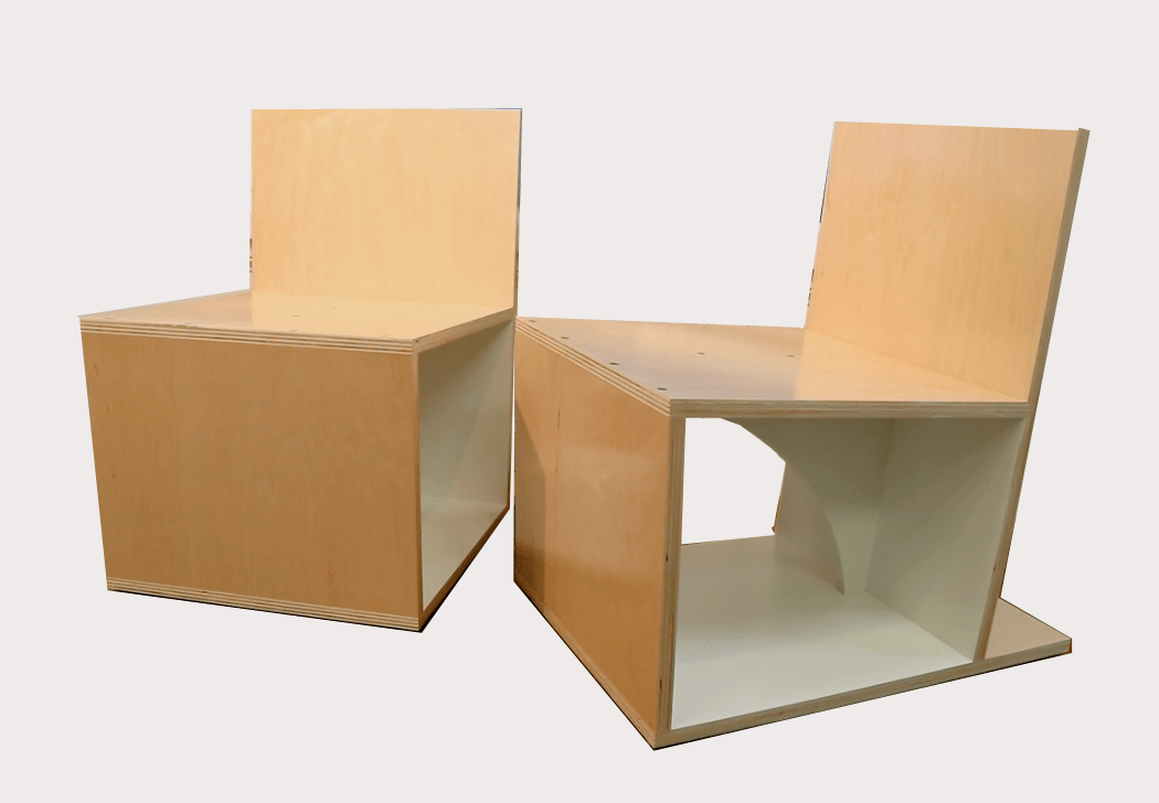 Build a Set of Plywood Chairs – Free Design Plans