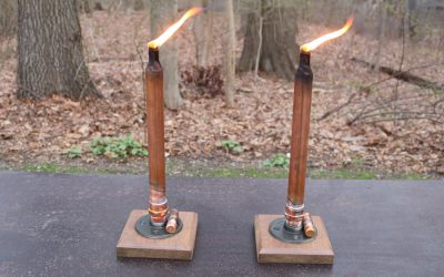 Make A Tabletop Tiki Torch