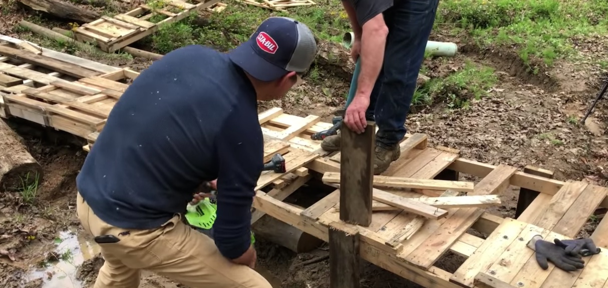 Make a Pallet Wood Bridge – Dual Sport Motorcycle Trail