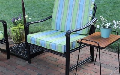 How To Refinish Outdoor Metal Furniture