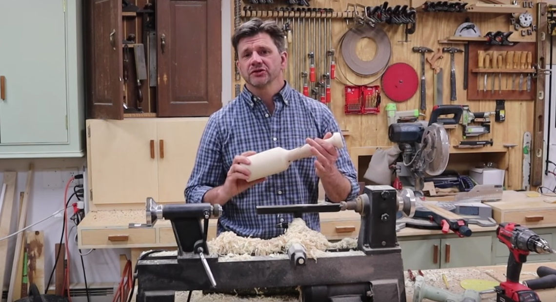 Lathe Turning Project – Dogwood Mallet