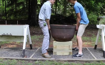 How To Build a Treated Wood Planter Stand