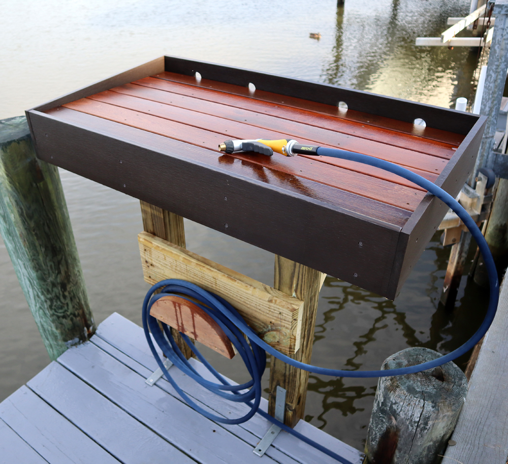 How to Make a Fish Cleaning Table – FREE DESIGN PLANS