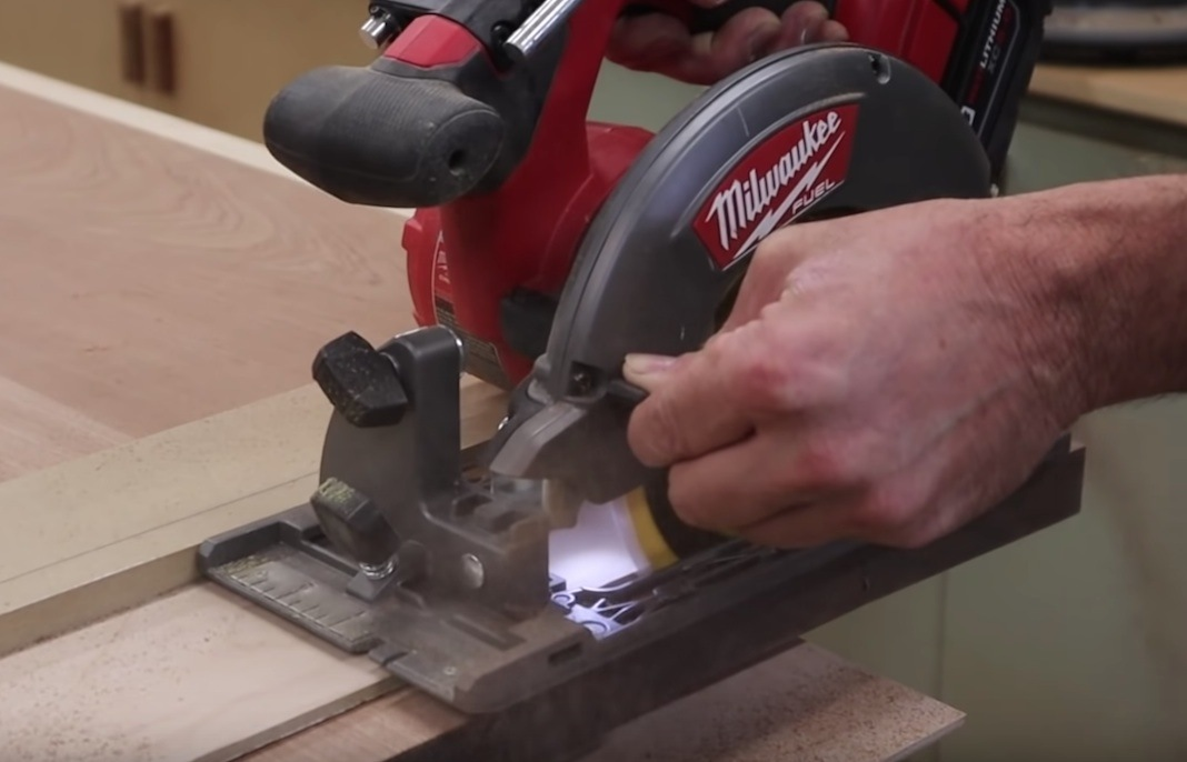 How To Get Clean Crosscuts with a Circular Saw
