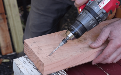 How to Drill and Drive Screws at an Angle – Quick Tip
