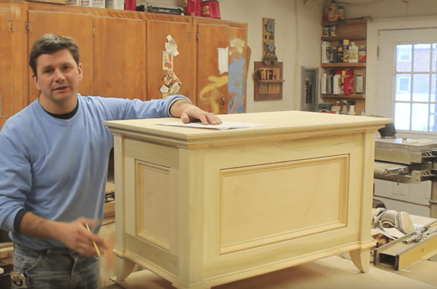 Build a Blanket Chest / Toy Chest – FREE DESIGN PLANS