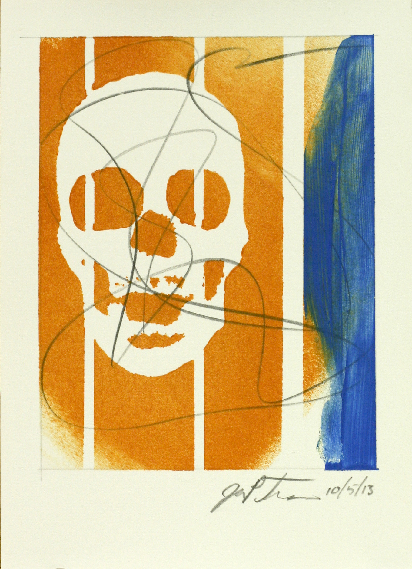 Frankie Pezzolla Winner Of Giveaway #4 – Skull 5 X 7