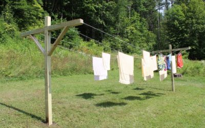 How to make – build a clothesline