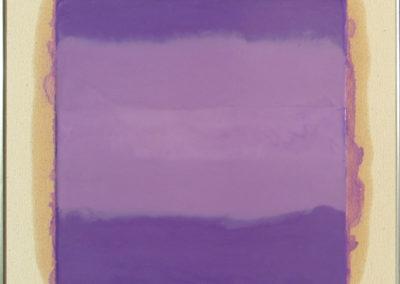 SOLD $1,500 Purple Haze, 2010. Encaustic on canvas 16 x 16.JPG