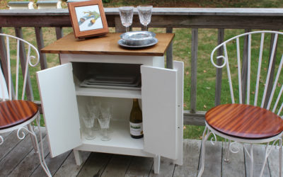 Build a Small Outdoor Cabinet w/ Design Plans