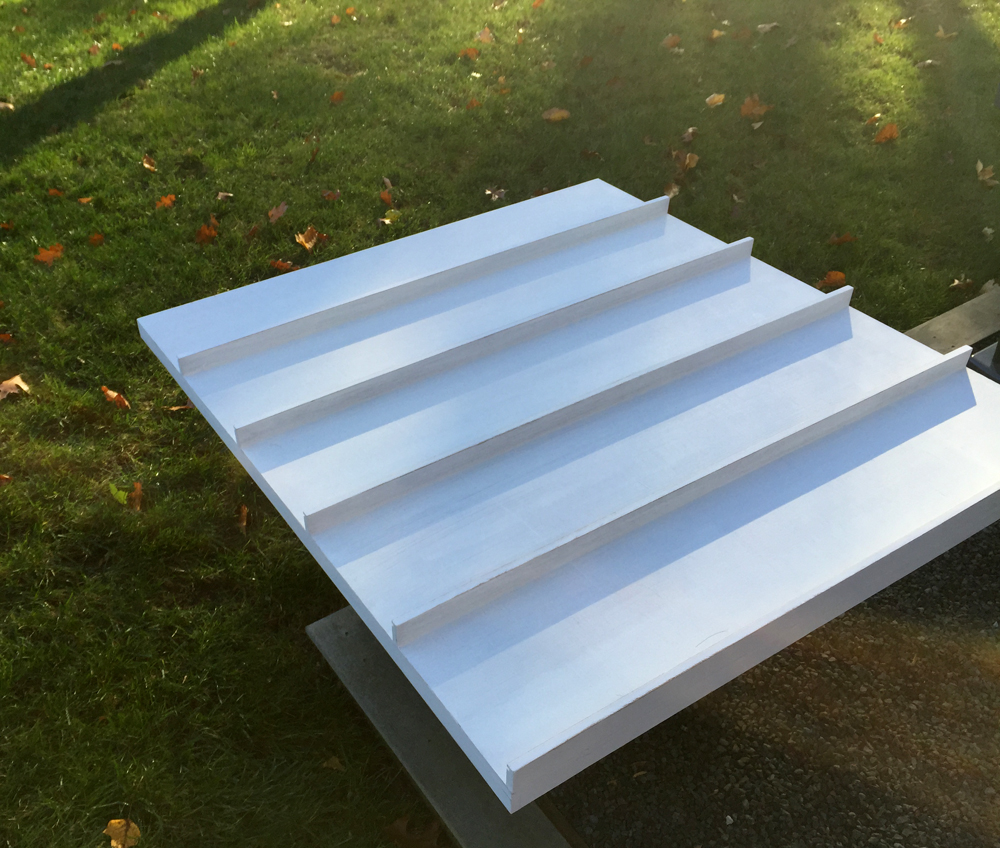 How To Make Wooden Display Panels with Shelves