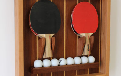 Make a Custom Ping Pong Paddle & Ball Holder – Design Plans