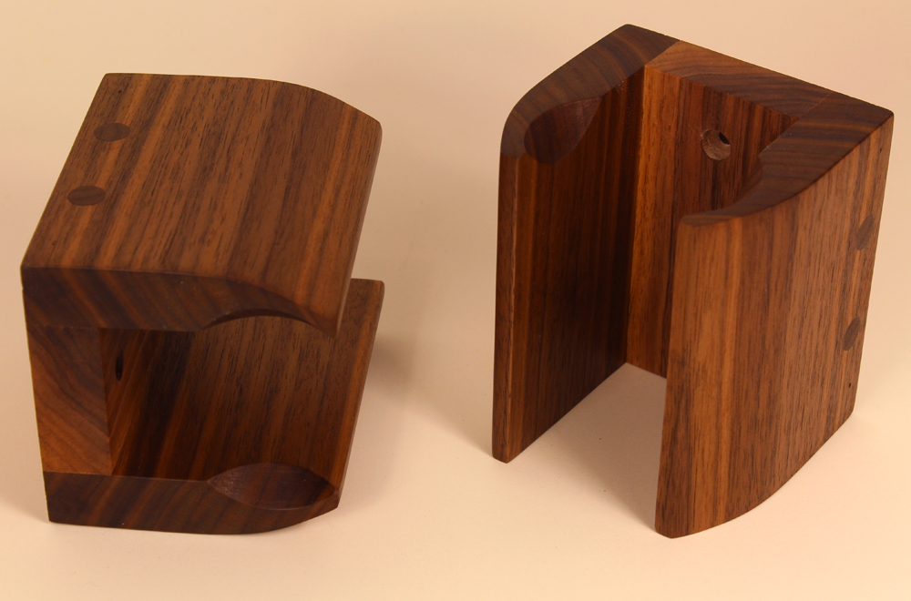 Guitar Hangers with Solid Black Walnut – Free Design Plans
