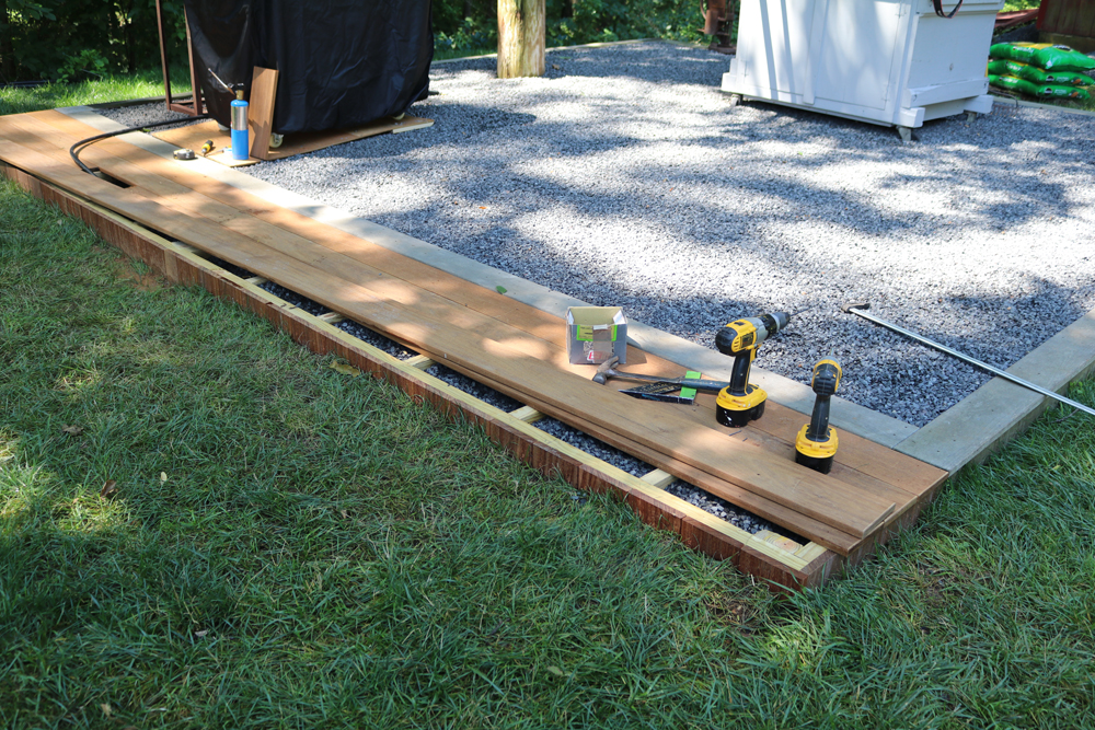 Building an Ipe Wood Deck – Outdoor Kitchen Project